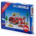 Set požární stanice 16 dílů 1:64 Siku 5502 WORLD