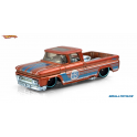 Chevrolet 1962 pick up Hot Wheels Orange and Blue