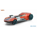Twin Mill 3 Hot Wheels Orange and Blue