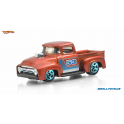Ford 1956 truck Hot Wheels Orange and Blue
