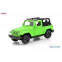 Jeep Wrangler Rubicon Majorette 1:64 zelená
