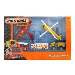 Mission Force - Fire sada Matchbox