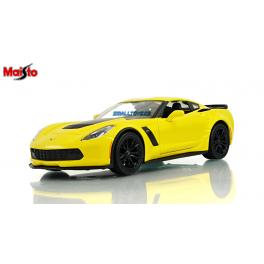 Chevrolet Corvette 2015 Z06 Maisto 1:24 žlutá
