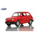 Fiat 126P Welly červená