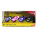 Cars 3 sada autíček - 4 kusy Mattel FMN73