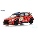 Škoda Fabia III R5 2016 Barum Rally Zlin No.2 Abrex 1:43
