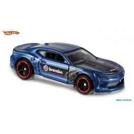 Chevrolet Camaro 2018 SS Hot Wheels modrá