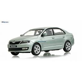 Škoda Rapid Abrex 1:43 světle zelená metalíza