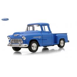 Chevrolet 1955 Stepside Welly modrá