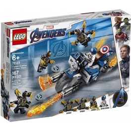 LEGO 76123 Super Heroes Captain America: útok Outridů