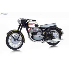 Jawa 500 OHC 1956 Abrex 1:18 černá
