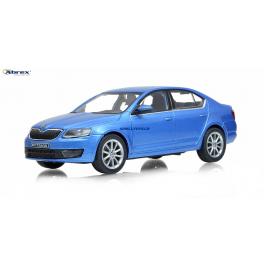 Škoda Octavia 2013 Abrex 1:43 modrá metalíza