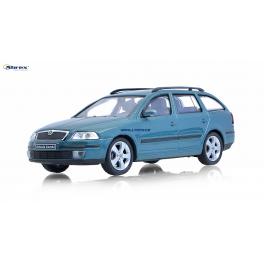 Škoda Octavia 2004 combi Abrex 1:43 zelená