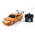 Toyota Supra Fast & Furious RC auto Jada 1:24