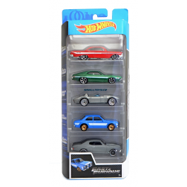 Hot Wheels Fast & Furious sada autíček