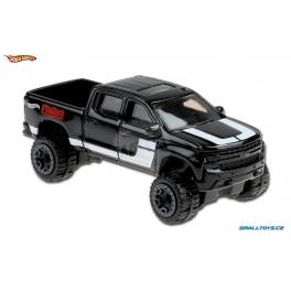 Chevrolet Silverado Trail Boss LT Hot Wheels černá