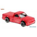 GMC Syclone Hot Wheels červená