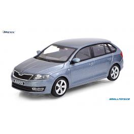 Škoda Rapid Spaceback Abrex 1:43 šedá metalíza