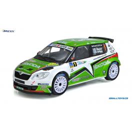 Škoda Fabia S2000 2011 Rally Islas Canarias No.1 Abrex 1:43