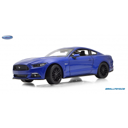 Ford Mustang 2015 GT Welly 1:24 modrá