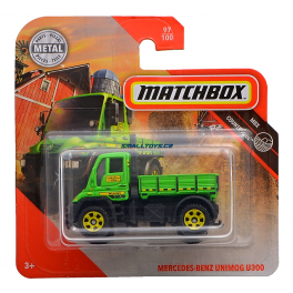 Mercedes Benz Unimog U300 Matchbox