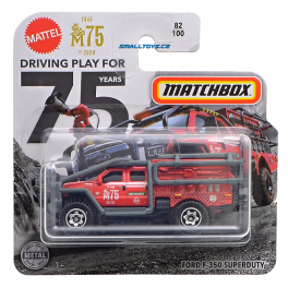 Ford F350 Superduty Matchbox