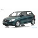Škoda Fabia 2 Abrex 1:43 zelená metalíza